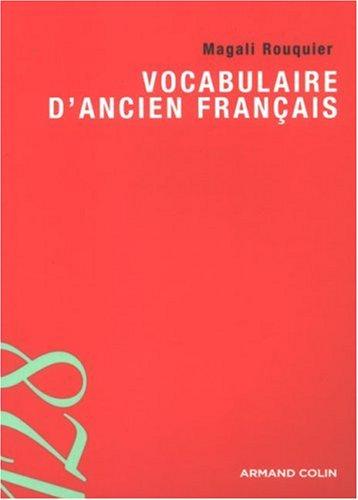 9782200352080: Vocabulaire d'ancien français