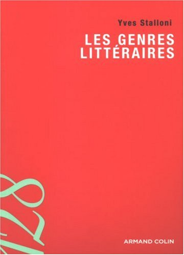 9782200352776: Les genres littéraires