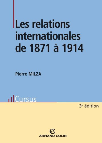 9782200353063: Les relations internationales de 1871 à 1914