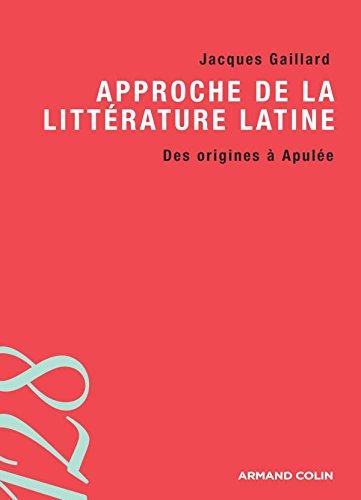 9782200353377: Approche de la littérature latine