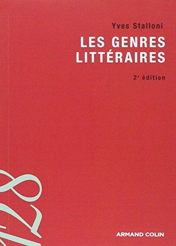 9782200354985: Les genres litt�raires