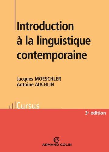 9782200355821: Introduction à la linguistique contemporaine (French Edition)