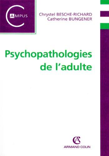 9782200355845: Psychopathologies de l'adulte (French Edition)
