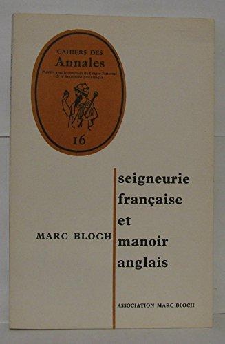 9782200361198: Seigneurie française et manoir anglais