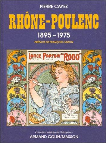 9782200371463: Rhône-Poulenc, 1895-1975
