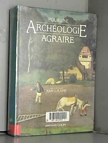 9782200371890: Pour une arch�ologie agraire