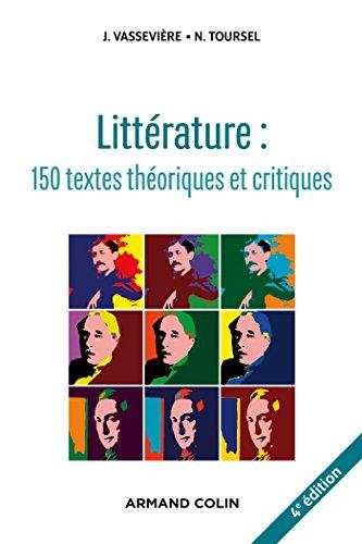 9782200601331: Littérature : 150 textes théoriques et critiques (Hors collection)
