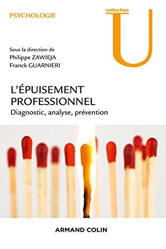 9782200602925: l'épuisement professionnel ; diagnostic, analyse, prévention