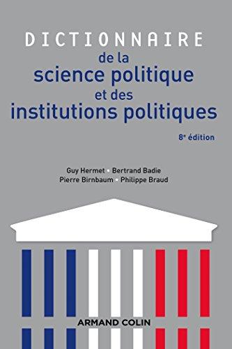Dictionnaire de la science politique et des: Guy Hermet; Bertrand