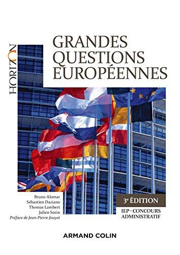 9782200611712: Grandes questions européennes - 4e éd. - Concours administratifs - IEP