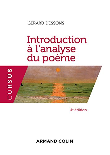 9782200613815: Introduction à l'analyse du poème - 4e éd. (Cursus)