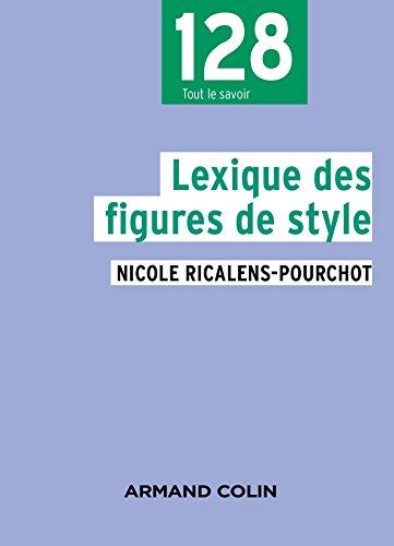 9782200613877: Lexique des figures de style - 2e éd