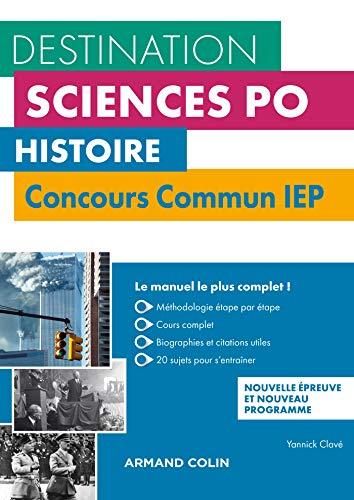 9782200628796: Histoire - Concours commun IEP - 2e éd. - Cours, méthodologie, annales: Cours, méthodologie, annales