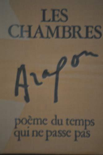 9782201015038: Les chambres, poème du temps qui ne passe pas