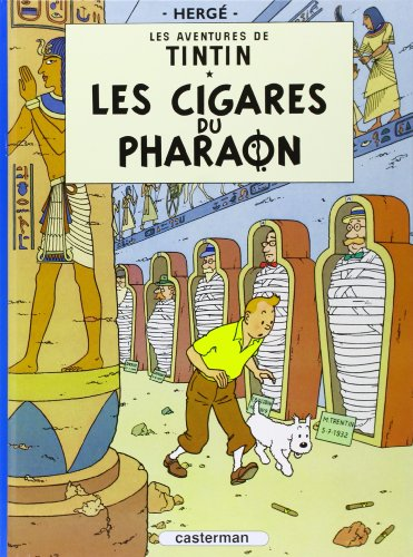 9782203001039: Les aventures de Tintin : Les Cigares du pharaon - Tome 4 (French Edition)