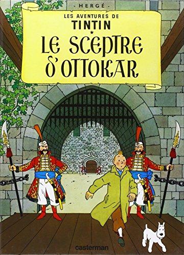 9782203001077: Les Aventures de Tintin, Tome 8 : Le sceptre d'Ottokar