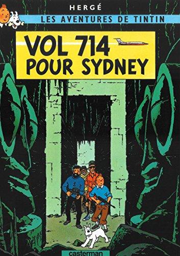 9782203001213: Les Aventures de Tintin Flight 714 (FR) (French Edition)