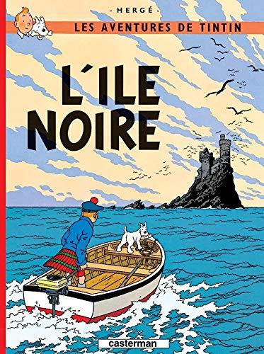 L'Ile Noire (Aventures de Tintin) MINI ALBUM: Herge