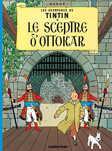 9782203001848: Les Aventures de Tintin, Tome 8 : Le sceptre d'Ottokar : Mini-album