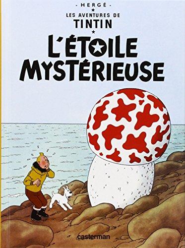 9782203001862: Les Aventures de Tintin, Tome 10 : L'étoile mystérieuse : Mini-album