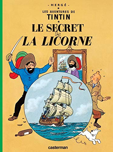 9782203001879: Le Secret de la Licorne (Aventures de Tintin) MINI ALBUM (French Edition)