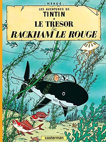 9782203001886: Les Aventures de Tintin, Tome 12 : Le trésor de Rackham le Rouge : Mini-album