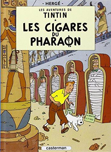 9782203003064: Les Aventures de Tintin, Tome 4 : Les cigares du Pharaon : Mini-album