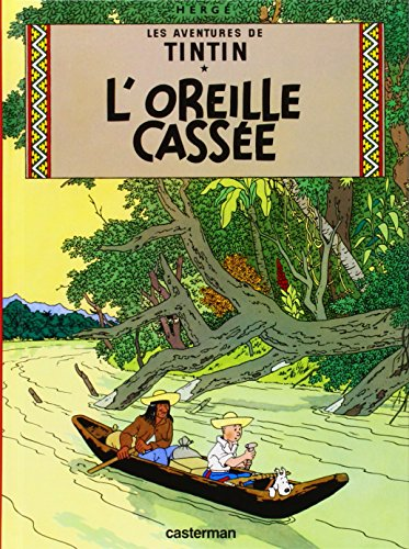 9782203003088: L'oreille Cassee: Petit Format (Tintin) (French Edition)