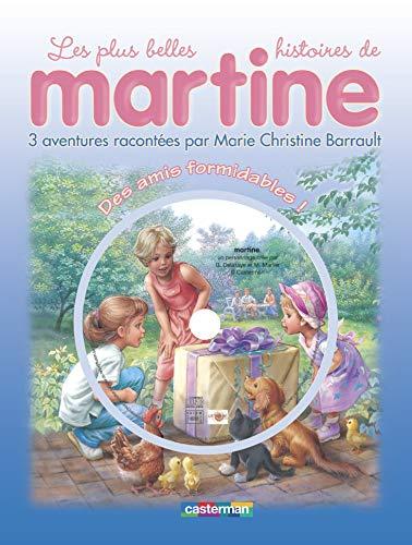 9782203004474: Martine Livres CD: DES Amis Formidables (Livre + CD) (French Edition)