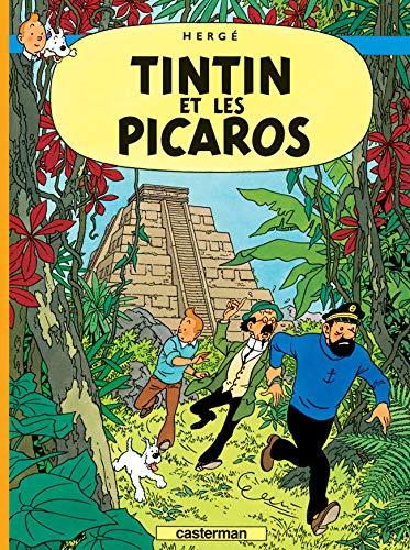 9782203004740: Les Aventures de Tintin : Tintin et les Picaros : Edition fac-similé en couleurs