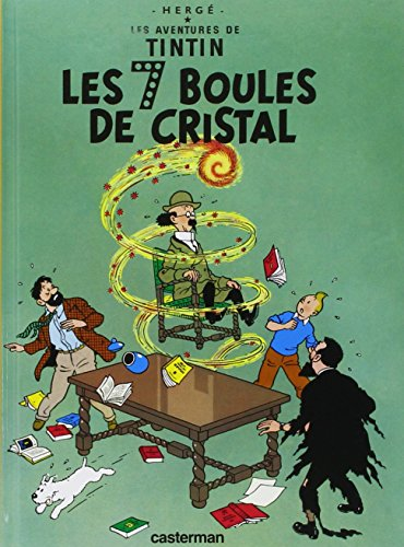 9782203006454: 7 Boules De Cristal (Aventures de Tintin) (French Edition) MINI ALBUM