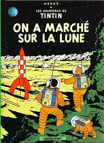 9782203006492: Les Aventures de Tintin, Tome 17 : On a marché sur la Lune : Mini-album