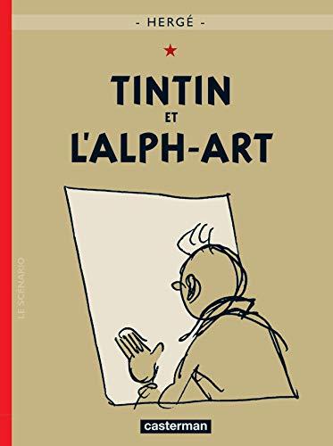 9782203007680: Tintin et l'alph-Art (French Edition) MINI ALBUM