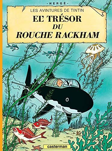 9782203009264: Les Aventures de Tintin : Le trésor de Rackham le rouge : Edition en langue ch'ti