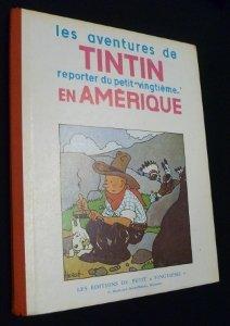 9782203011038: Les aventures de Tintin, reporter du petit vingti�me en Am�rique. Reprint de l'EO en noir/Blanc