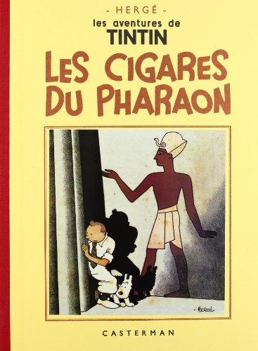 9782203011045: Les Aventures de Tintin : Les Cigares du Pharaon : Edition fac-similé en noir et blanc (Fac-similés)