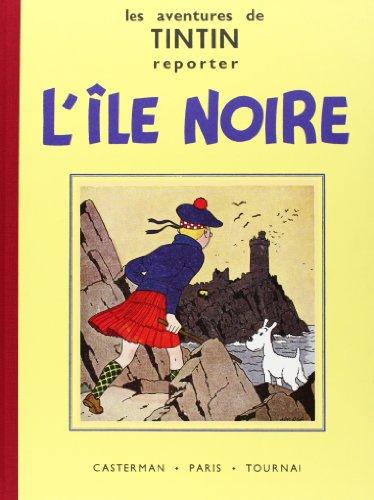 9782203011076: Tintin fac-simile nb - l'ile noire (Fac-similés)