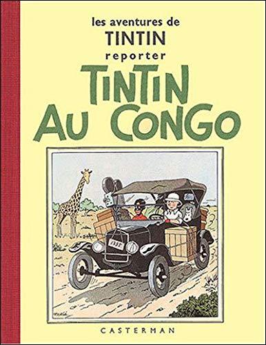 TINTIN FAC-SIMILE NB - TINTIN AU CONGO: HERGE