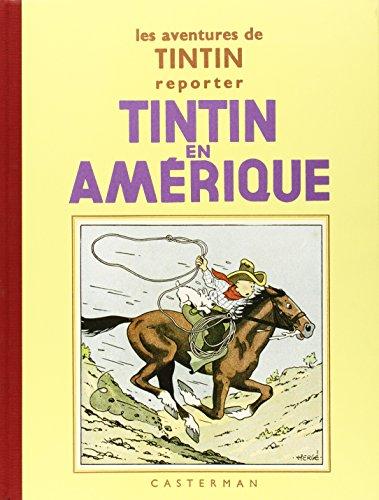 9782203011137: Les Aventures de Tintin : Tintin en Amérique : Edition fac-similé en noir et blanc