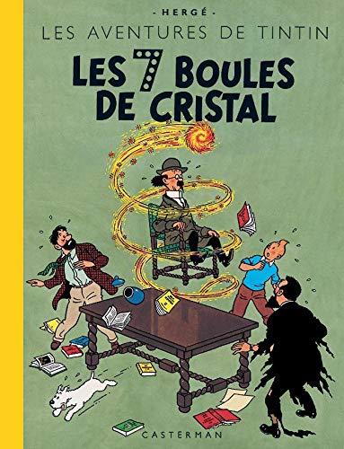 9782203011410: Les Aventures de Tintin : Les 7 Boules de cristal : Edition fac-similé en couleurs