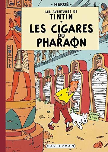 Les Aventures de Tintin - Les Cigares du pharaon (fac similé)