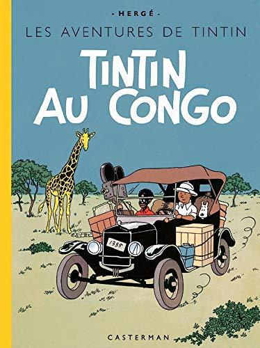 TINTIN FAC-SIMILE COULEURS - TINTIN AU CONGO: HERGE