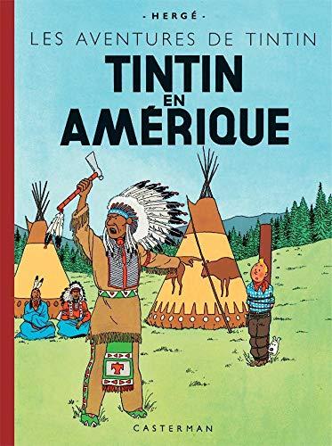 9782203012028: Les Aventures de Tintin : Tintin en Amérique : Edition fac-similé en couleurs