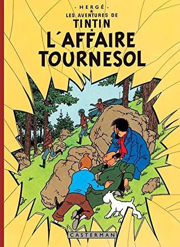 9782203012059: Les Aventures de Tintin : L'Affaire Tournesol : Edition fac-similé en couleurs
