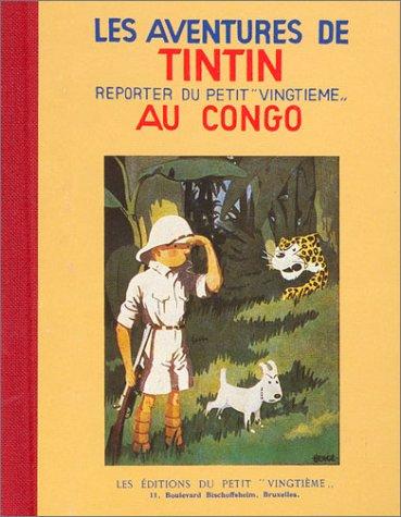 9782203016026: Tintin au Congo (Fac-similé, 1931)