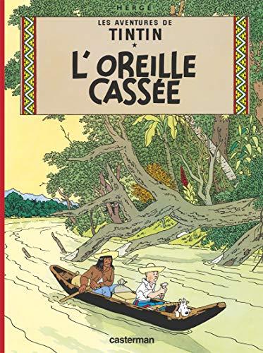 9782203016064: L'Oreille cassée (mini-album en noir et blanc)