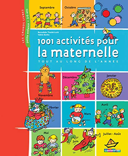 9782203016972: 1001 Activités pour la maternelle tout au long de l'année
