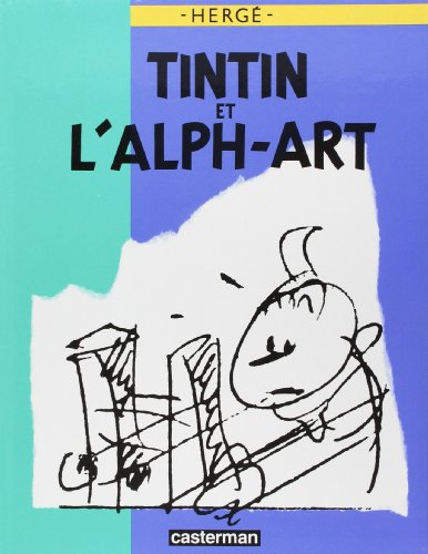 9782203017016: Tintin et l'Alph-Art : Version Luxe