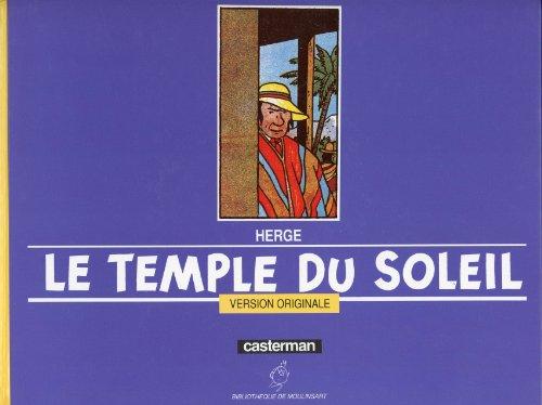 9782203017061: Le Temple du soleil : Version originale