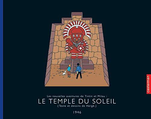 9782203017146: Les Aventures de Tintin : Le temple du soleil